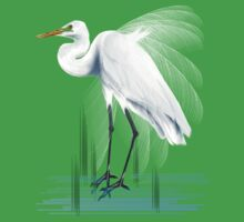 Great Egret by Lotacats