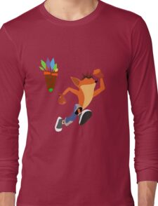Crash Bandicoot Long Sleeve T-Shirt