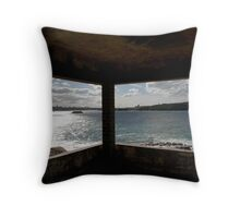 Framing the landscape  Throw Pillow