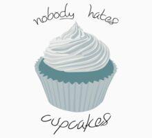 Nobody Hates Cupcakes [BLUE] Baby Tee