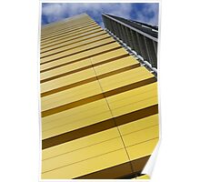 Bright Yellow  Poster