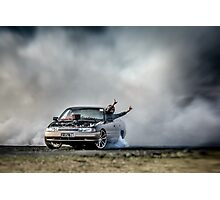 EX5LTR Tread Cemetery Burnout Photographic Print