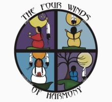 The Four Winds Of Harmony Kids Tee