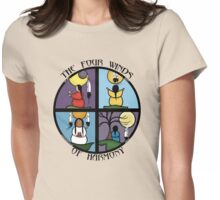 The Four Winds Of Harmony Womens Fitted T-Shirt