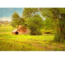 The Barn - Beerenberg, Hahndorf, The Adelaide Hills, SA Photographic Print