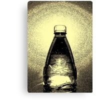 Agua Embotellada Canvas Print