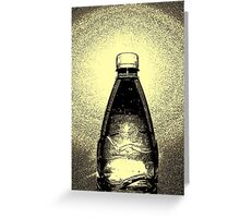 Agua Embotellada Greeting Card