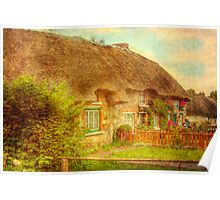 Cottage Life - Adare, Southern Ireland Poster