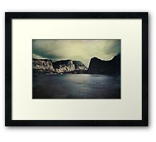 Through Thick or Thin Framed Print