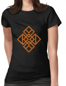 Asian Square Womens Fitted T-Shirt