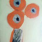 three flowers by Brooke Wandall