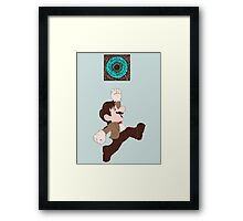 Mario Who? Framed Print