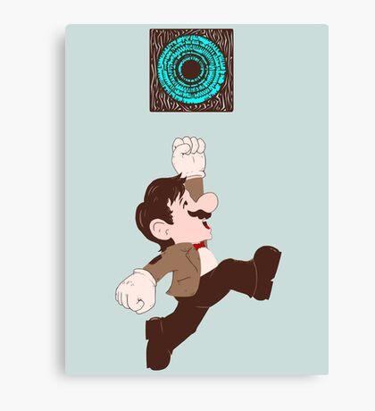 Mario Who? Canvas Print