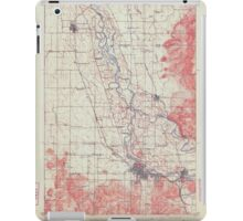 USGS Topo Map Oregon Eugene 282480 1910 62500 iPad Case/Skin