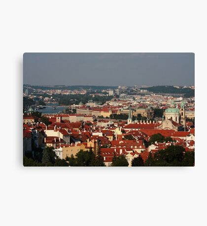 Prague, Czech Republic Canvas Print