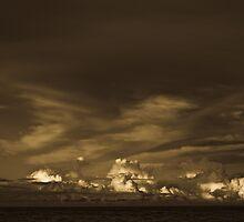 Sunset eastern skyline by harper white