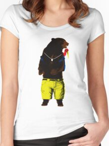 Banjo-Kazooie In The Wild Women's Fitted Scoop T-Shirt