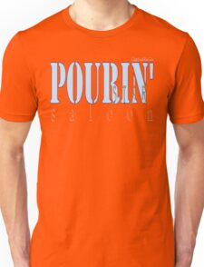 POURIN' STAR SALOON Unisex T-Shirt