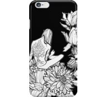 Elf in flowers iPhone Case/Skin