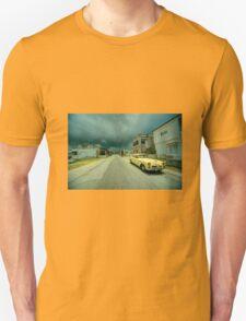 Yellow storm car  T-Shirt