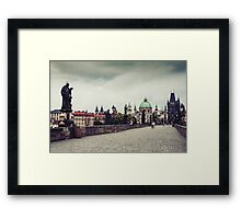 Prague, Czech Republic Framed Print