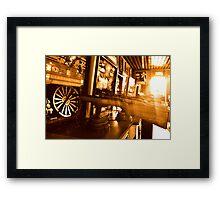 Shooting Games Framed Print