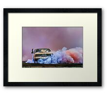EX5LTR UBC Burn Out Framed Print