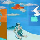Beach collage - day 18 by Marlies Odehnal