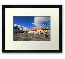 City square II Framed Print