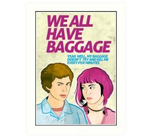 Baggage | Scott Pilgrim Art Print