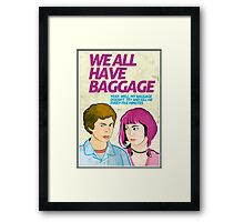 Baggage | Scott Pilgrim Framed Print