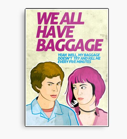 Baggage | Scott Pilgrim Metal Print