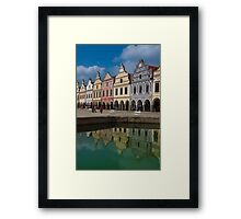 Telč, Czech Republic Framed Print