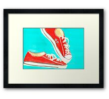 Chucks Framed Print