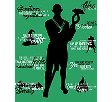Dragon Age - Solas Quotes Photographic Print