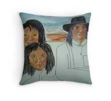 Native Americans Throw Pillow