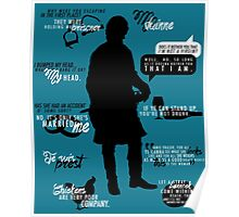 Outlander - Jamie Quotes Poster