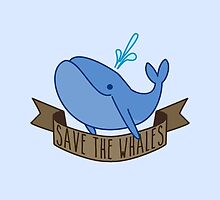 Save the Whales by nyurhurr