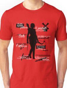 Dragon Age - Leliana Quotes Unisex T-Shirt