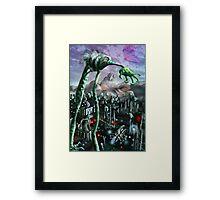 Menace of Planet Z Framed Print