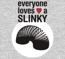 Slinky! [BLACK TEXT] One Piece - Long Sleeve