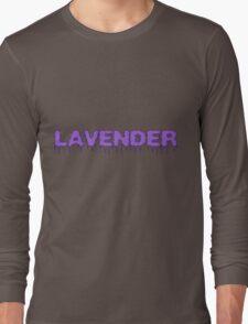 Lavender Long Sleeve T-Shirt