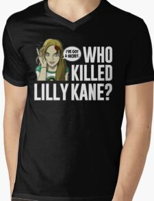 Lilly Kane Mens V-Neck T-Shirt