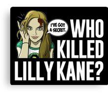 Lilly Kane Canvas Print
