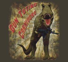 T-Rex, Gun Toting Carnivore by ZeroAlphaActual