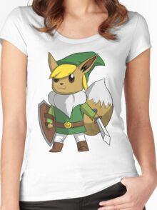 Eevee/Link Women's Fitted Scoop T-Shirt