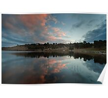 Googong sunset Poster
