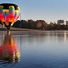 On the lake.  by DaveBassett