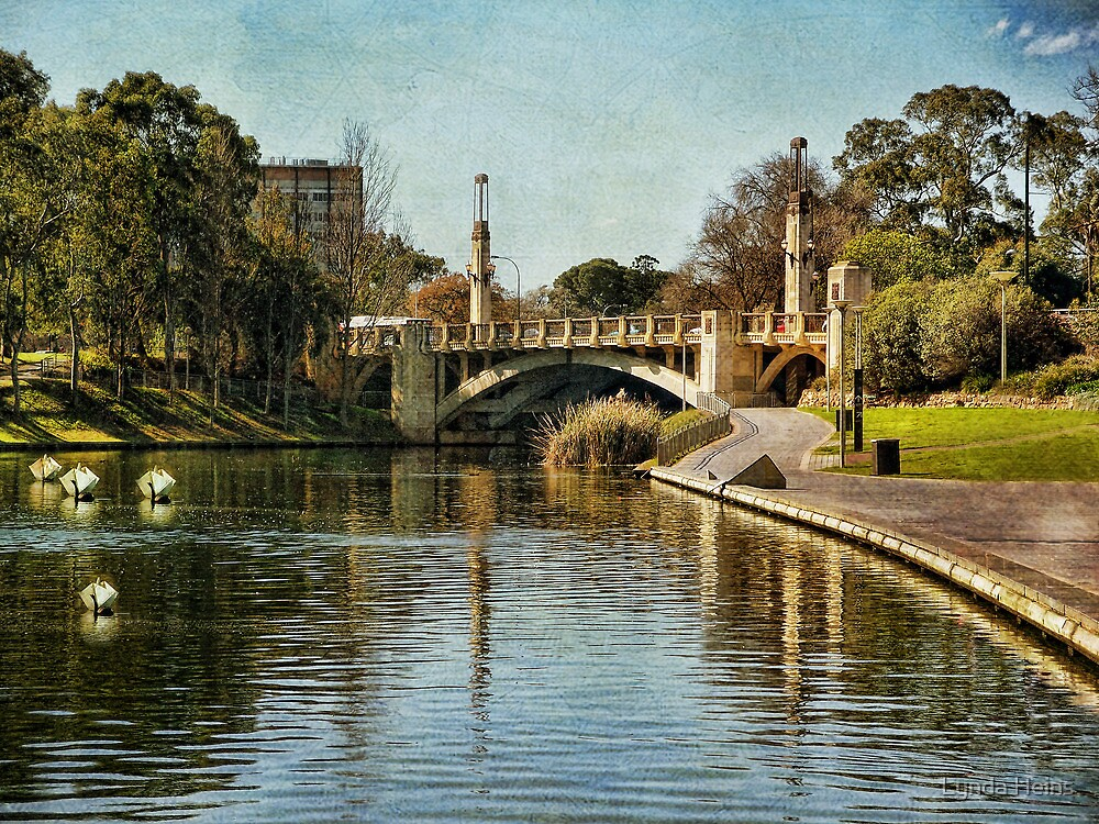 ~ Bridge over the Torrens ~ by Lynda Heins