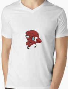 Red Lion Logo - circa 2000 Mens V-Neck T-Shirt